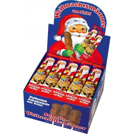 50er Weihnachtsmänner Schaukarton